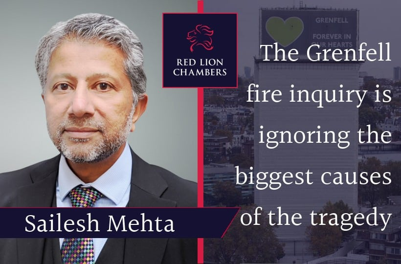 The Grenfell fire inquiry is ignoring the biggest causes of the tragedy