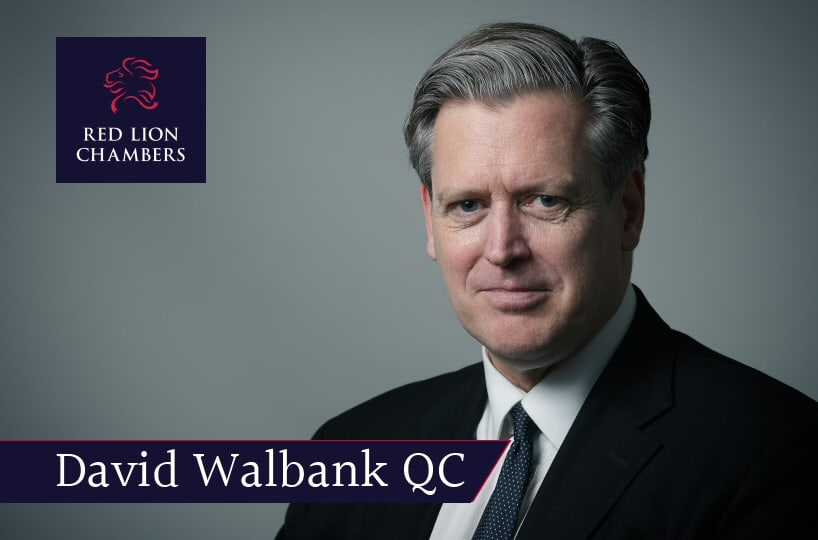 David Walbank QC lectures to the 'Whitehall Prosecutors Group'