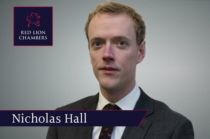 Nicholas Hall writes for Counsel Magazine