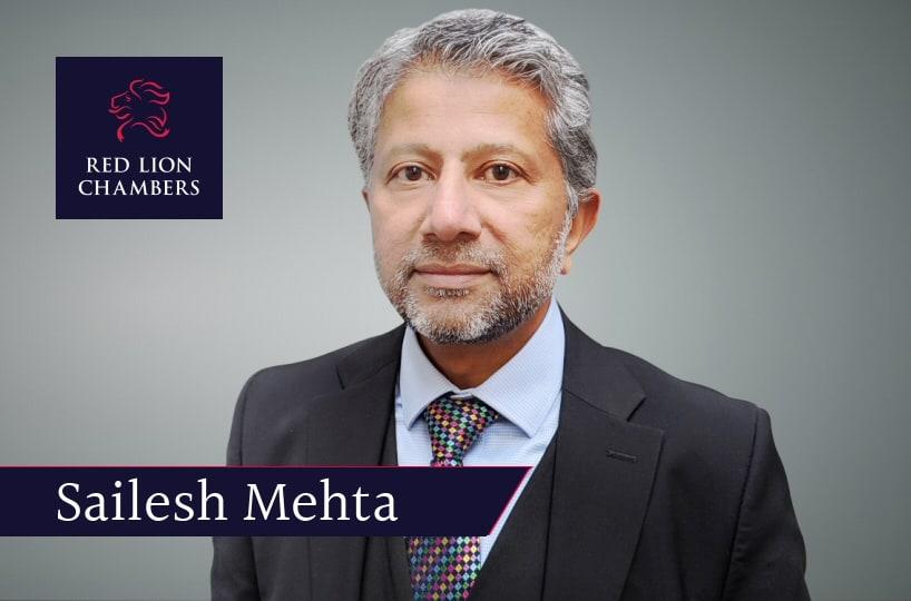 Sailesh Mehta writes opinion piece in Law Society Gazette