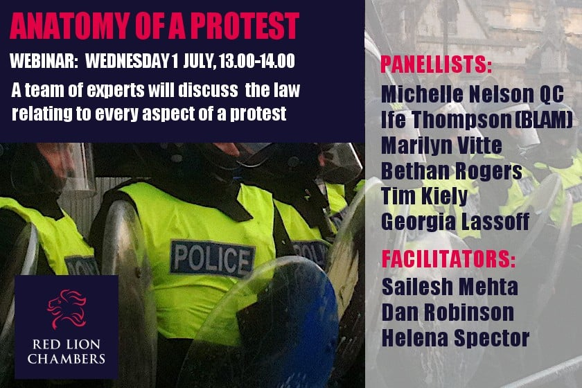 Anatomy of a Protest (Recording available)
