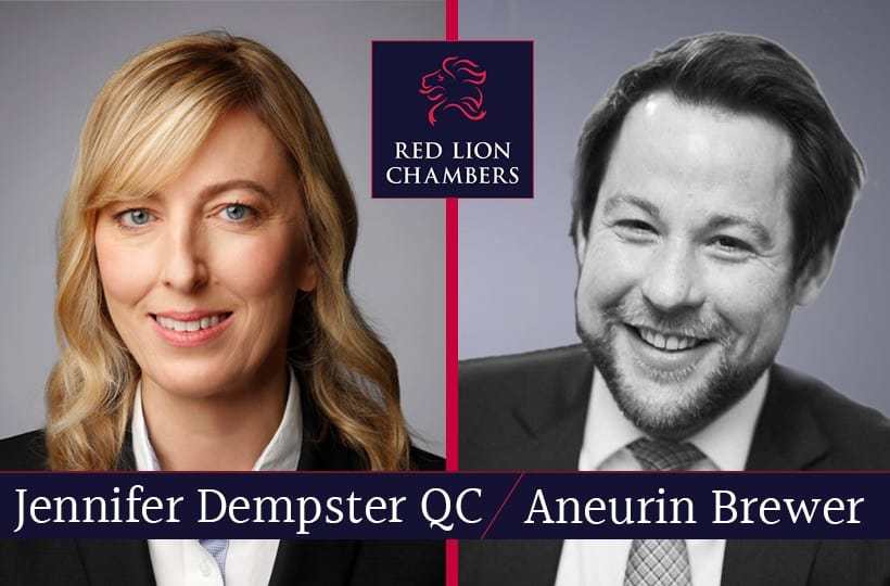 Jenni Dempster QC and Aneurin Brewer write for The Times