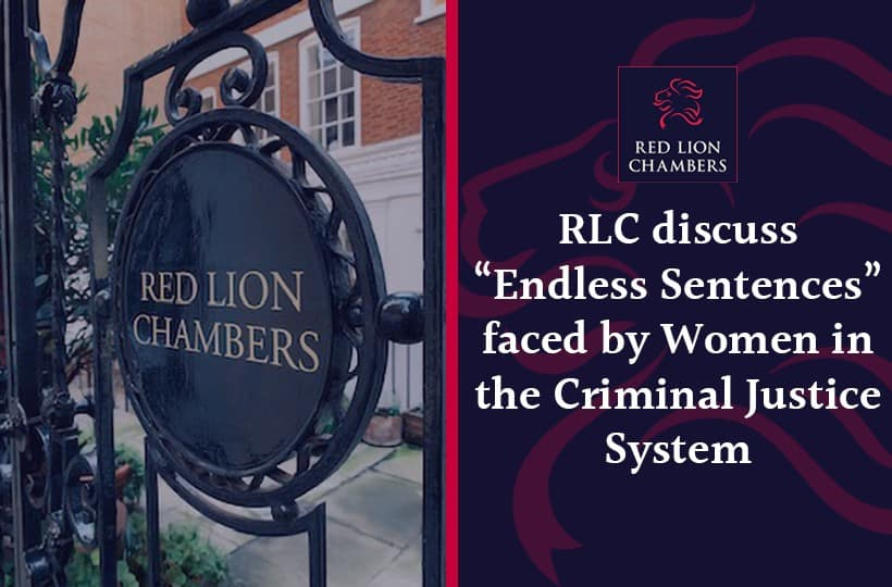 """RLC discuss """"Endless Sentences"""" faced by Women in the Criminal Justice System"""