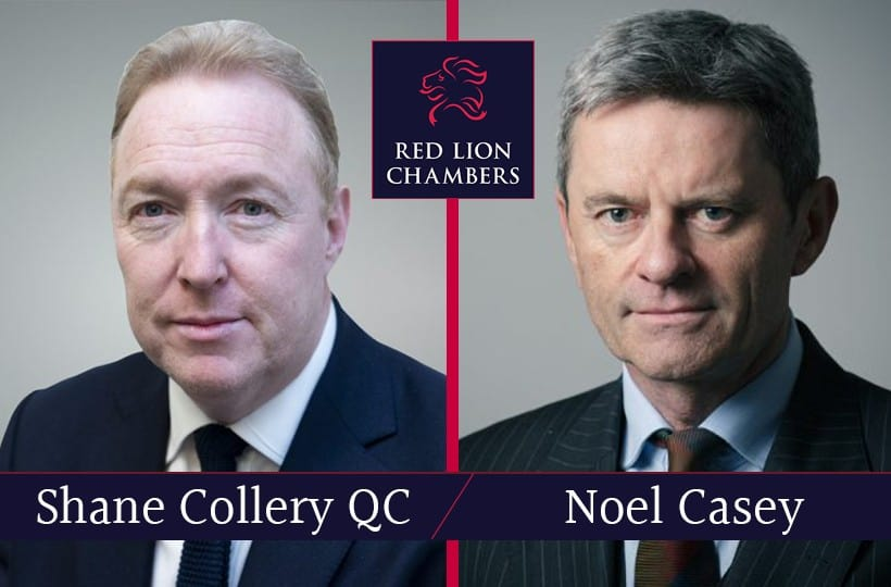 Shane Collery QC and Noel Casey appointed as Circuit Judges