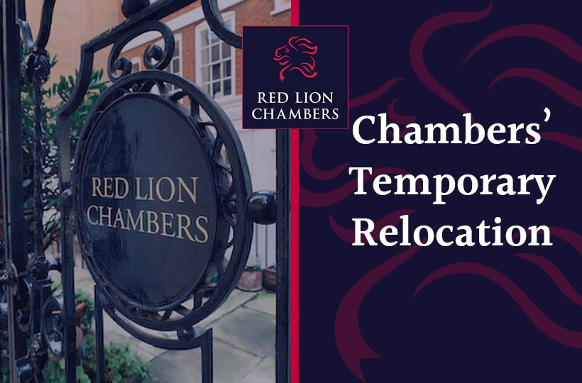 Chambers' Temporary Relocation